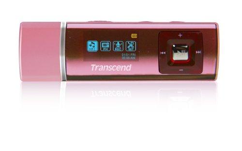 Transcend MP3プレーヤー MP320 4GB ピンク TS4GMP320R