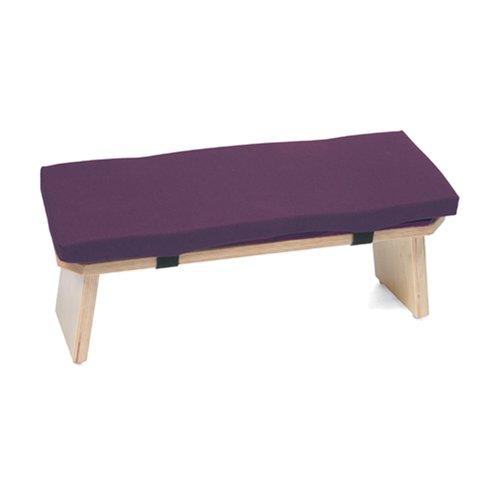 Lowes Hugger Mugger Meditation Bench Plum Best Yoga Mat