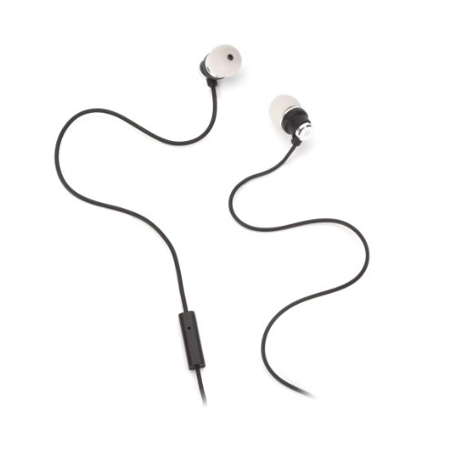 Black & Grey Bolts Talk Earbuds With Mic