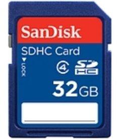 SanDisk 32GB SDHC Flash Memory Card (SDSDB-032G-B35)