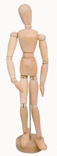 solo-goya-4157-modellpuppe-aus-holz-mannlich-20-cm