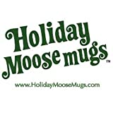 Holiday MooseMugs - Inspired by Christmas Vacation Moose Mugs (Set of 2) ~ Holiday Moosemugs