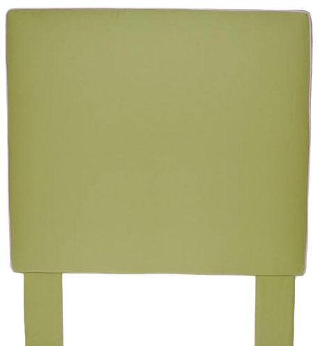 Image of Southeastern Kids Square Headboard Apple Green and Light Pink (1002/0705)