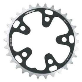 FSA Pro Road 30t (42) 74mm Black Chainring