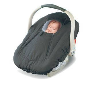 Car Seat Cover - Cover For Your Baby In Their Car Seat - Black