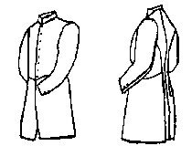 "Jr Officer's Frockcoat Pattern - Medium (40-44"")"