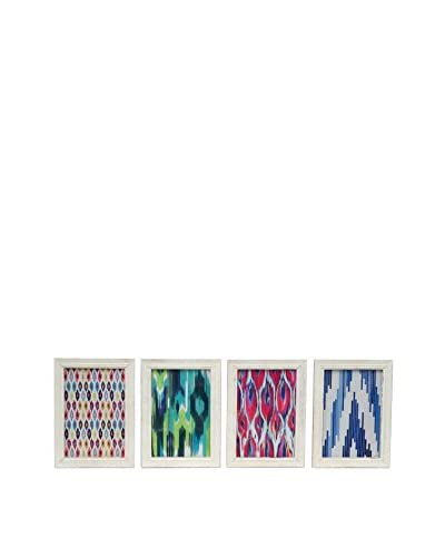 Three Hands Set of 4 Wood Photo Frames