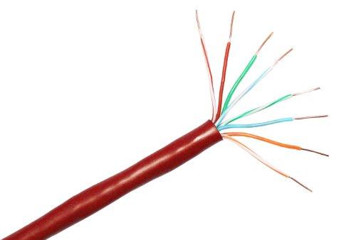 Cp Technologies Cat. 5E 350Mhz Solid Pvc Utp Bulk Cable (E-207-4P-C5-Rds)
