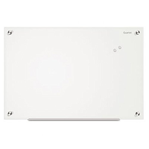 Quartet Glass Whiteboard, Infinity, 4 x 3 Feet, Frosted Surface, Frameless (G4836F) (Glass Boards compare prices)