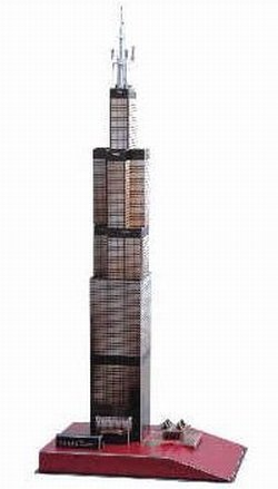Cheap CALEBOU 3D 3D Sears Tower Chicago Puzzle Model (B002Q2G7DE)
