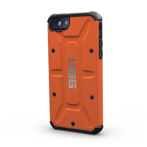 iPhone5専用 米国UAG社製耐衝撃ケース URBAN ARMOR GEAR APPLE iPhone5 COMPOSITE CASE WITH SCREEN PROTECTION アイフォン5 ケース【並行輸入】 (ラスト/ブラック)