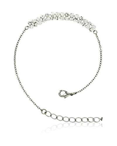 Shiny Cristal Braccialetto  argento 925 rodiato