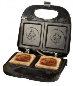 NHL Winnipeg Jets Sandwich Press & Waffle Iron (presses team logo onto bread)