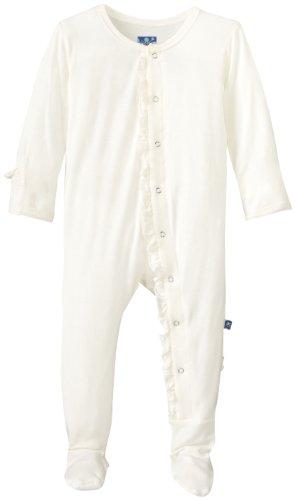 KicKee Pants Baby-girls Print Ruffle Footie