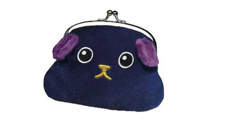 Toynami Mameshiba Black Bean Coin Purse