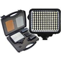 Vidpro K-120 10-Piece Pro Photo/Video LED Light Kit with Battery, Charger, Diffusers & Case