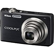 Nikon COOLPIX S630 12Megapixel Digital Camera with 7x Optical Zoom, 2.7 LCD, VR Image Stabilization, Sport Continuous Mode, Jet Black