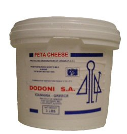 Greek Feta Cheese Dodoni, 3lb