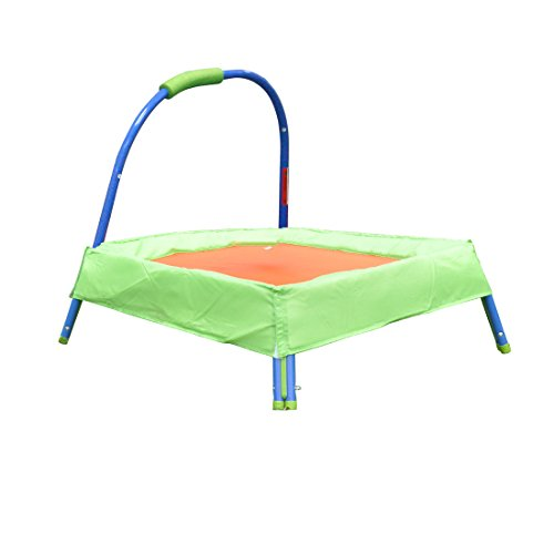LQZTM-Kids-Child-Jumper-Trampoline-With-Padded-Mat-Handle-Bar