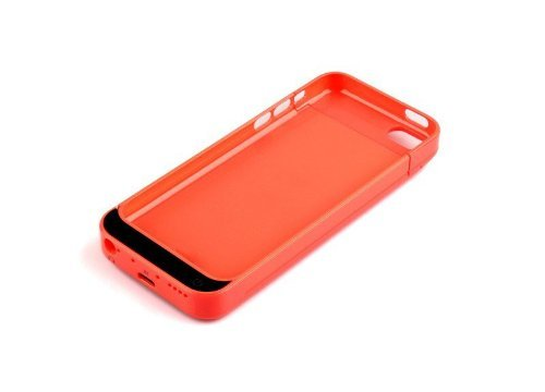 4200Mah Iphone 5C 5 5S External Power Pack Case And Rechargeable Back Up Battery Charger (Red)