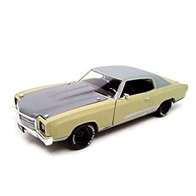 diecast car: 1970 Chevy Monte Carlo Fast & Furious 3 Movie 1:18 Diecast
