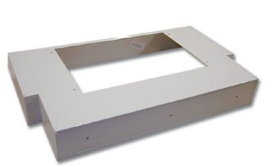 "National Products Range Hood Liner ""T"" Shape 30"" Stainless Steel"