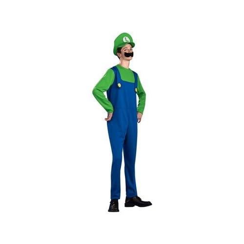 Rubies 886198 Super Mario Luigi Standard Teen Costume Toys & Games