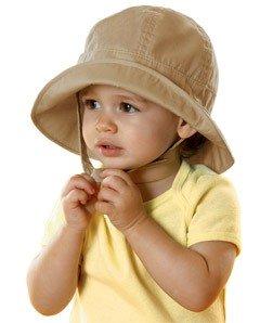 Bella - Baby Sun Hat, Khaki