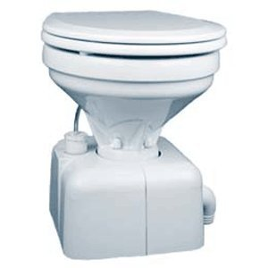 Raritan Crown Head - White, Household Style - Straight Discharge - 12V