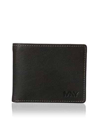 Marc New York Men's Two-Tone Washed Passcase, Black