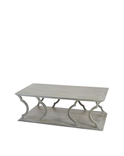 Artistic Lighting Mahogany Cloud Coffee Table, Grey