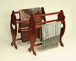 Amish Cherry Quilt Rack