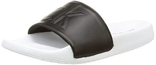 Calvin Klein JeansCharlotte Matte Smooth - Pantofole Donna, Nero (Nero (Blk)), 38