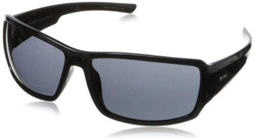 Dot Dash Exxellerator Oval Sunglasses,Black,61 mm