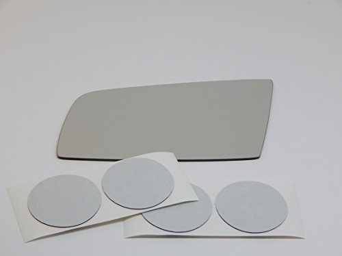 Fits 04-09 BMW 5 Series, 06-(09*) M5, M6 Left Driver Mirror Glass Lens Alternative Direct Fit-Over Option for Heated Auto-Dimming Mirrors Only See product details (See More Product Details compare prices)