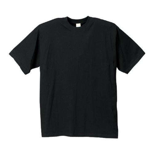 (マンチェス)manches 大きいサイズ クルーTシャツ3枚パック 583130 2 ブラック 3L