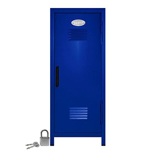 Mini-Locker-with-Lock-and-Key-Blue-1075-Tall