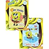 Nickelodeon Spongebob Diary With Lock - Spongebob Squarepants Journal - Motorin