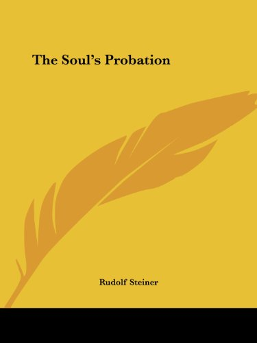 The Soul's Probation