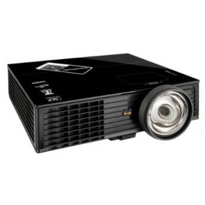 Viewsonic PJD6353s 3D Ready DLP Projector 720p HDTV 1024x768 XGA 15000:1 2500 lumens 4:3 HDMI USB VGA Speaker Ethernet Black
