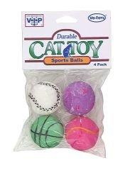 CAT SPORT BALL 4/PK 12