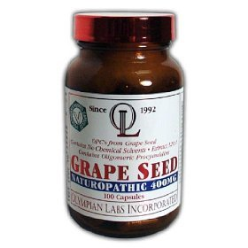 Olympian Labs Grape Seed Extract 400mg, 100 capsules bottle