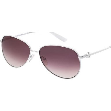 Marc By Marc Jacobs Marc by MJacobs MMJ354/S Sunglasses-0DMV White (XK Burgundy Gradient Lens)-59mm