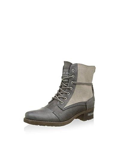 Mustang Ankle Boot braun/mehrfarbig