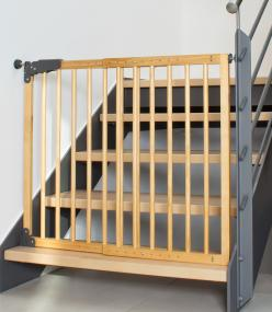 Klemmmontage zur absicherung einer treppe for Cancelletti per bambini amazon