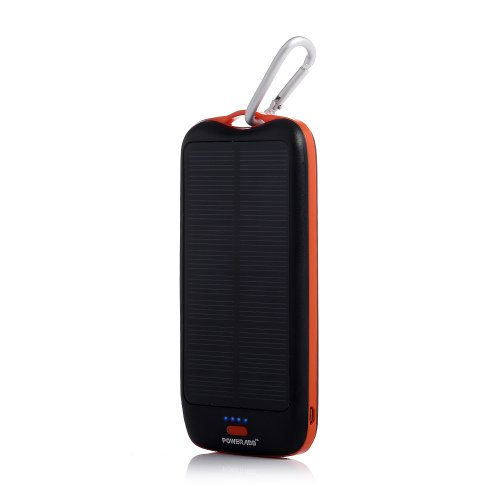 Poweradd™ Apollo2 Solar Panel Charger 10000Mah Dual-Port Portable Charger Backup External Battery Power Pack For Iphone 5S 5C 5 4S 4, Ipad Air, Other Ipads, Ipods(Apple Adapters Not Included), Samsung Galaxy S5 S4, S3, S2, Note 3, Note 2, Most Kinds Of An