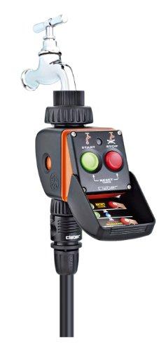 Claber 53921 8425 Aquauno Pratico Programmatore, Nero/Arancione