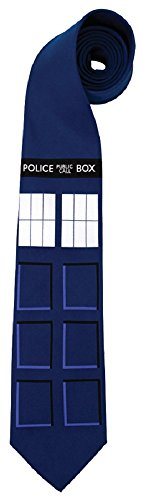 elope Doctor Who TARDIS Neck Tie