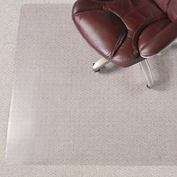 Realspace(R) 35% Recycled All-Pile Studded Chair Mat, 36in. x 48in.