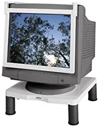 Fellowes Standard Monitor Riser - Up to 60lb - Platinum, Graphite